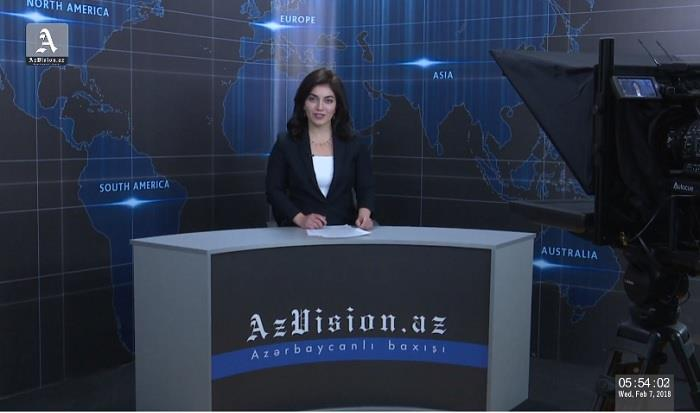 AzVision TV releases new edition of news in English for February 7 - VIDEO