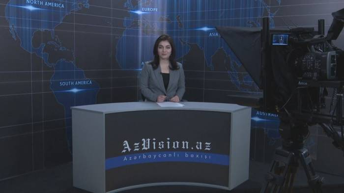 AzVision TV releases new edition of news in English for February 8 - VIDEO