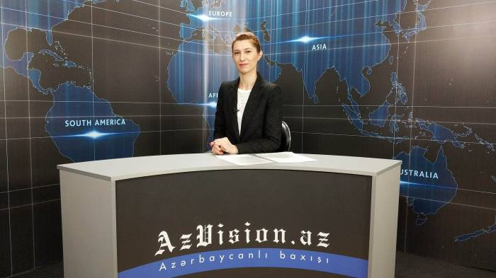 AzVision TV releases new edition of news in English for February 13 - VIDEO