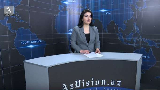 AzVision TV releases new edition of news in English for February 21 - VIDEO