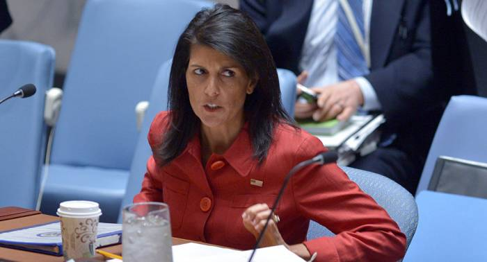 USA schließen Militärschlag gegen Syrien nicht aus – UN-Botschafterin