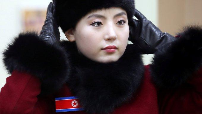 Nordkorea schickt Cheerleader in den Süden