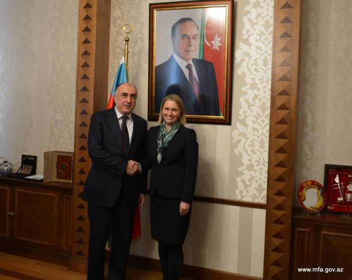 Azerbaijani FM urges US to strengthen efforts for solving Karabakh conflict