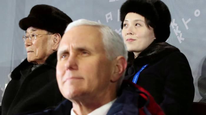 Nordkorea soll Treffen mit US-Vizepräsident Pence abgesagt haben