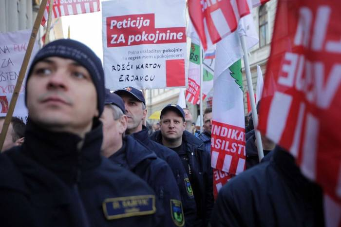 Slovenian schools closed as teachers strike for higher wages