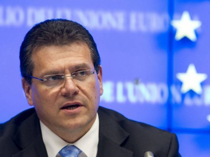 EU ready to mull possibility of connecting Iran to SGC - Sefcovic