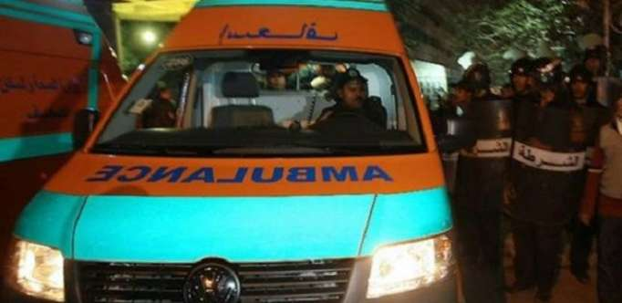 مصرع 3وإصابة 12 في حادث تصادم ببني سويف