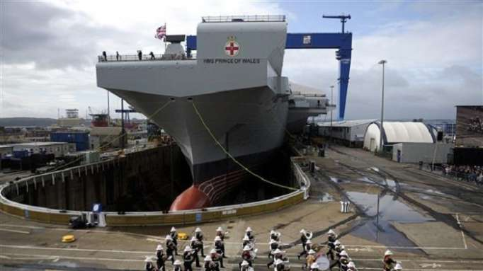 UK criticized for selling Navy flagship to Brazil for £84mn