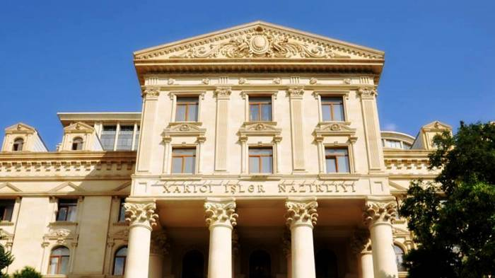 Azerbaijani MFA responds to Armenian foreign minister's statement