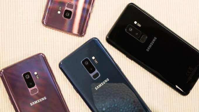 Das Galaxy S9 soll ein Kamera-Monster