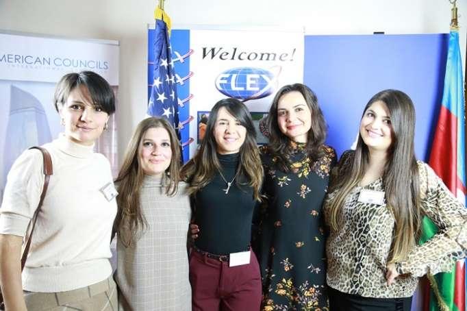U.S. Alumni celebrate 25th anniversary of FLEX program in Azerbaijan