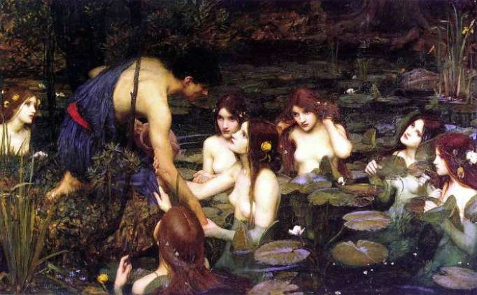 Manchester Art Gallery removes Waterhouse