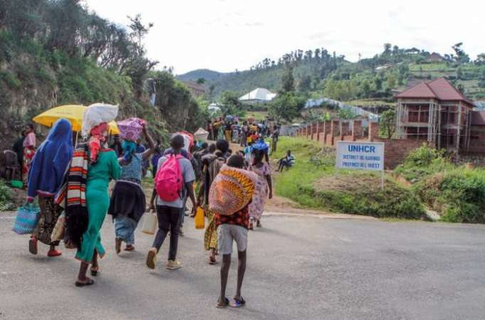 Five refugees killed, 20 injured, in Rwanda camp food protest-police