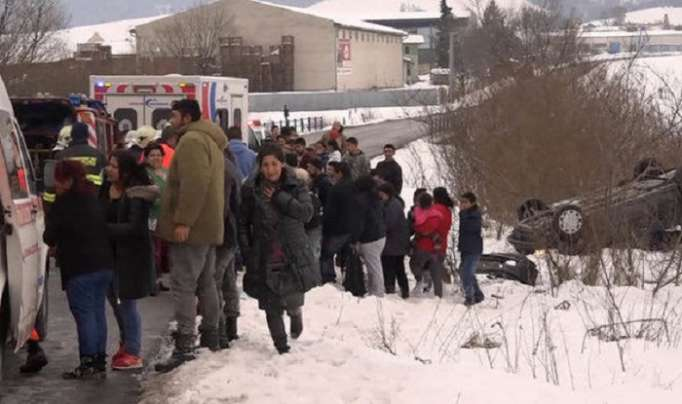 Car skids into group of children in Slovakia – 12 injured