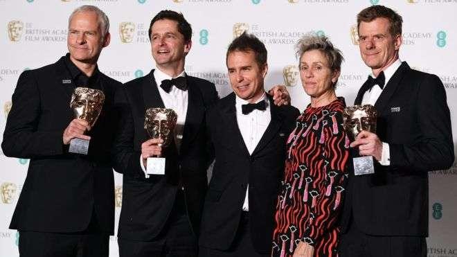 Bafta Film Awards 2018: Three Billboards wins top prizes
