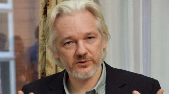 WikiLeaks founder says received envelope with