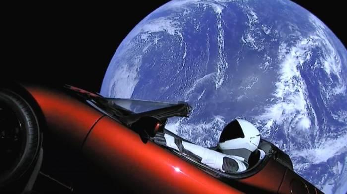 Car sent to Mars on world
