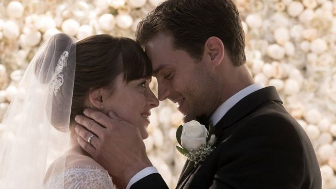 Fifty Shades trilogy reaches disappointing climax
