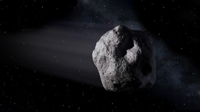 Asteroid set for