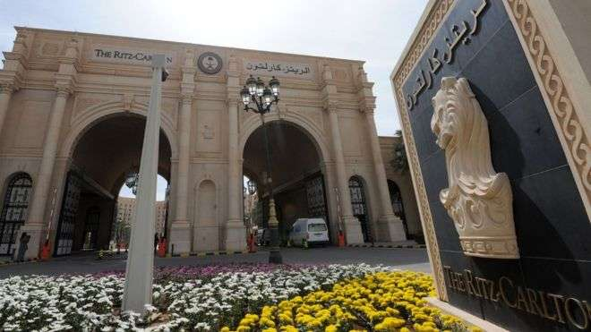 Riyadh Ritz-Carlton corruption purge Saudi hotel reopens