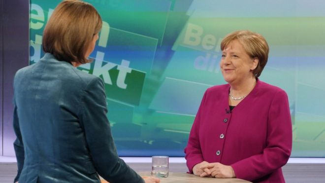 Germany: Merkel calls for younger ministers in new government