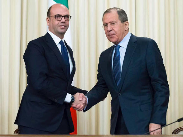 Russian, Italian FMs to mull Karabakh conflict today