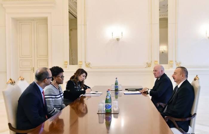 President Aliyev receives WB regional director for South Caucasus