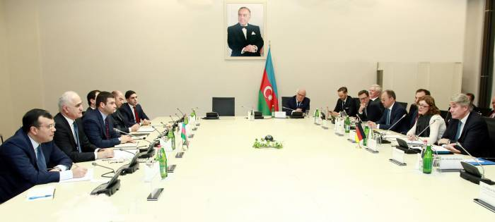 Azerbaijan, Germany discuss economic co-op