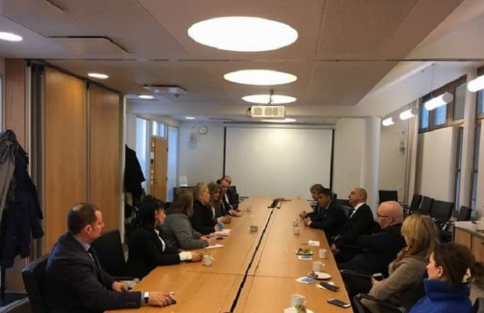 Representatives of Azerbaijani Diaspora meet with Finnish Ambassador to South Caucasus