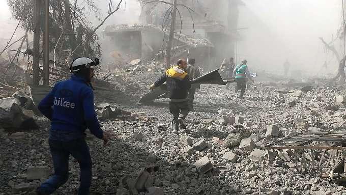 Erneut Dutzende Tote in Ost-Ghuta