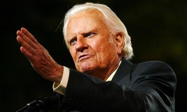 Billy Graham, famed Christian evangelist, dies aged 99