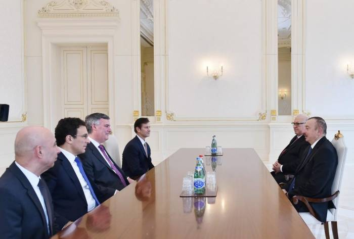 President Ilham Aliyev receives Boeing company's CEO