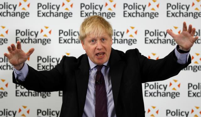 UK staying subject to EU laws would be intolerable - Johnson