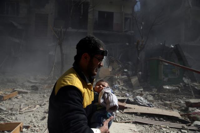 Syrian rebel-held area suffers the bloodiest week since 2015