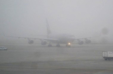 Heavy fog not affected Baku Airport's activity
