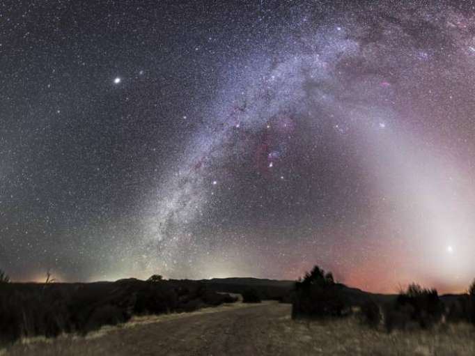 Astronomers observe Galactic winds for first time