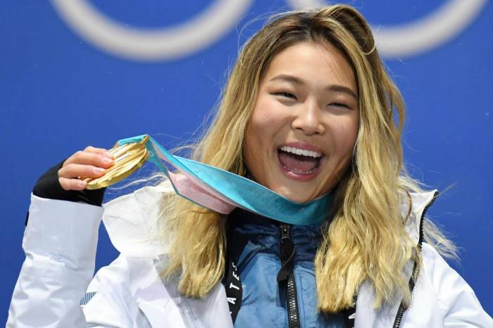 Winter Olympics 2018: Gold-medalist refuses to cry because of her eyeliner