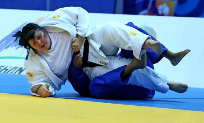 Azerbaijani female judo fighter wins bronze at Paris Grand Slam