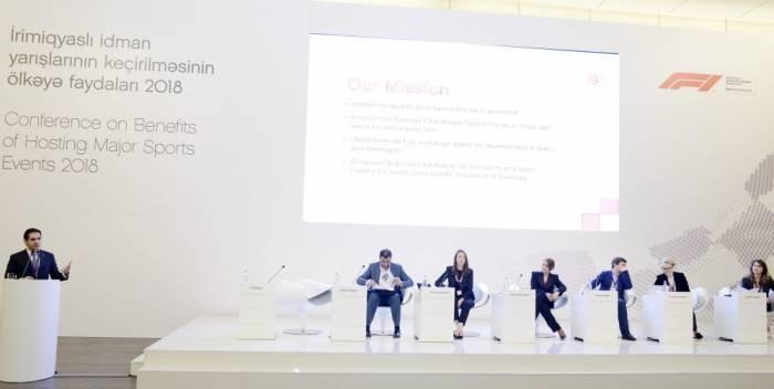 """Heydar Aliyev Center hosts conference on """"Benefits of hosting major sports events - 2018"""""""