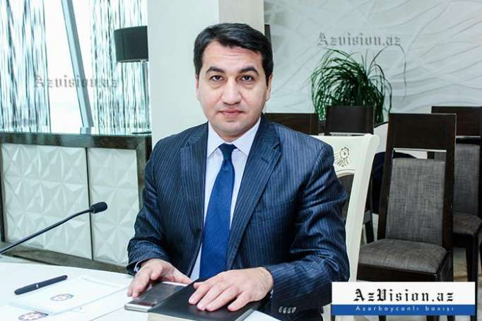 Hikmat Hajiyev gives interview to Egyptian newspaper Al Ahram
