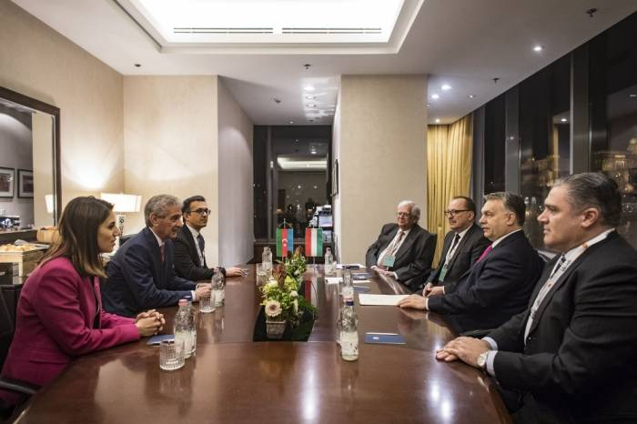 Azerbaijan, Hungary discuss prospects for developing relations