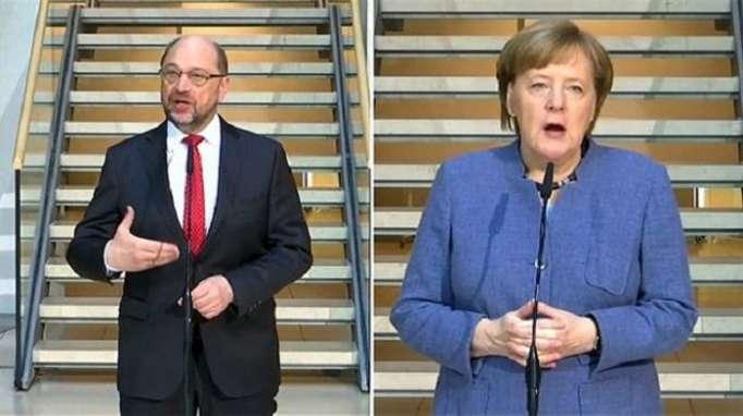 Merkel, Schulz fail to produce coalition deal