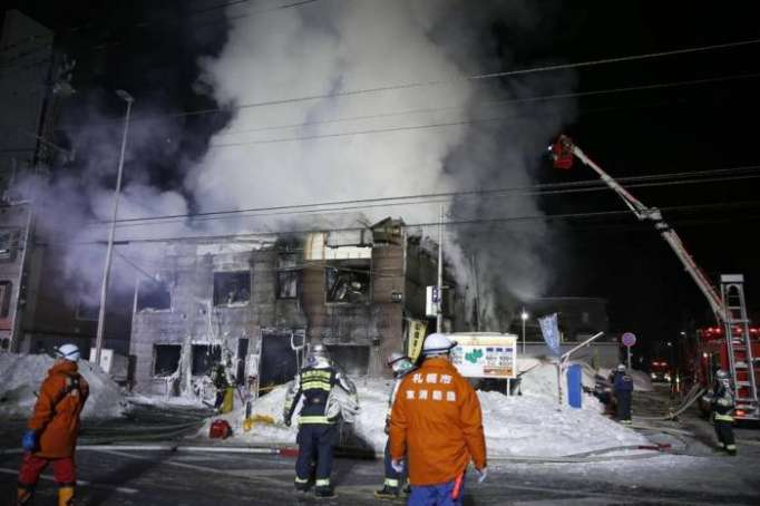 Fire Kills 11, Injures 3 at Home for Elderly Poor in Japan