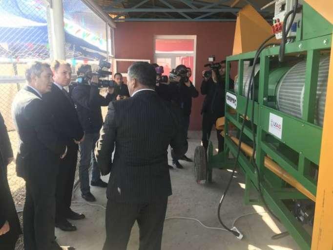 Feed processing enterprise opens in Azerbaijan's Jojug Marjanli village
