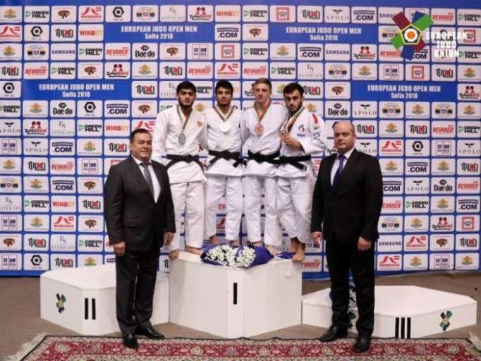 Azerbaijani judoka wins European cup