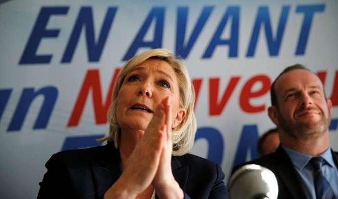 Marine Le Pen intenta refundar el Frente Nacional sin ceder poder