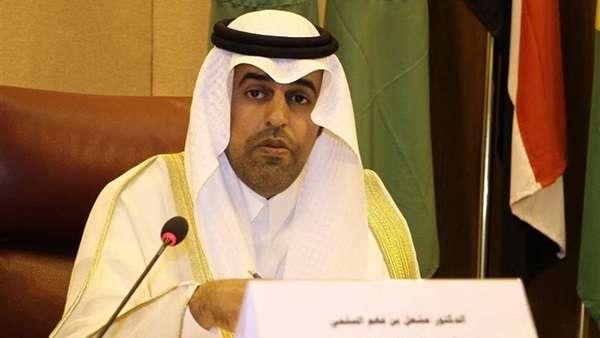 بدء الجلسة العامة للبرلمان العربي بكامل هيئته