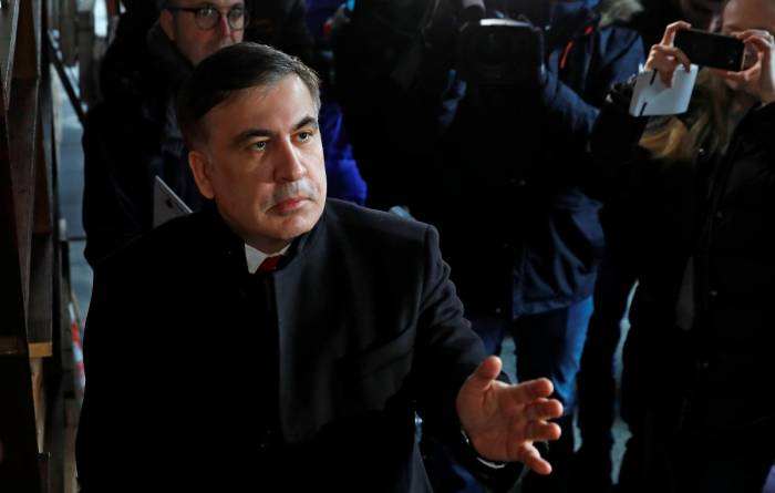 Saakashvili put on Ukraine