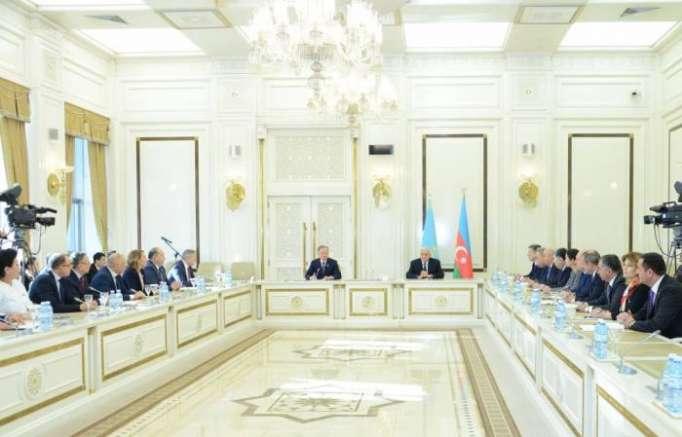 Azerbaijani Milli Majlis Chairman receives Kazakhstan