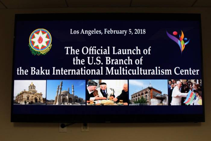 U.S. Branch of Baku Int'l Multiculturalism Centre opened in Los Angeles